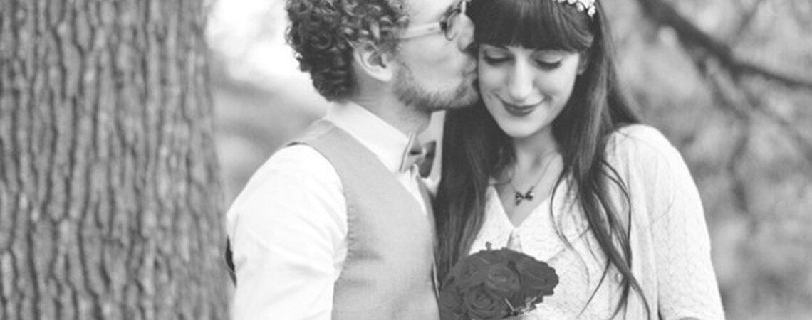 Bruiden met een pony: tips zodat jouw bruidskapsel de hele dag top zit!
