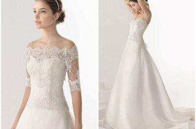 Robe de mariée de la semaine : un modèle romantique Rosa Clara 2014