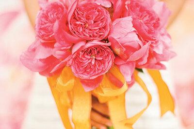 Una decoración recién exprimida: Lo mejor de los colores cítricos en el entorno de tu boda