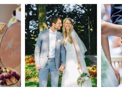 Wie das Brautpaar vor und während der Hochzeit die Nerven behält: Tipps von Hochzeitsplanerinnen
