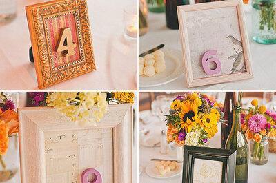 Adornos de bodas con tema de otoño