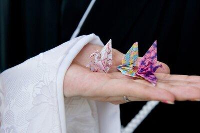 Wyjątkowy pomysł na papierowe dekoracje weselne