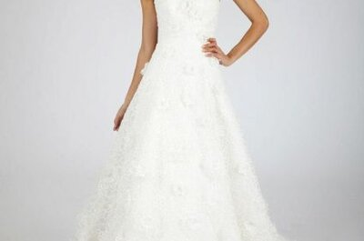 Vestidos de novia otoño 2013 de Oscar de la Renta