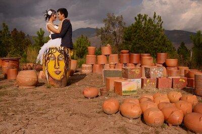 Daniel + Juanita: una boda DIY en Villa de Leyva