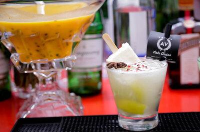 Bar de luxo: drinks personalizados e sofisticados no seu grande dia