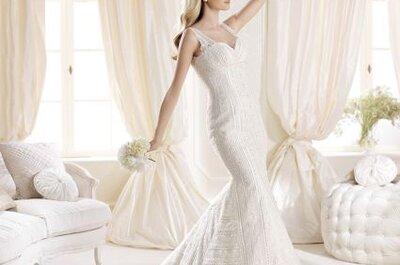 Vestidos de novia escote corazón La Sposa 2014