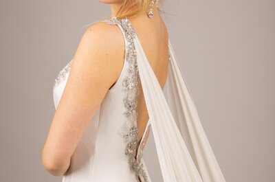 Les robes de mariée romantiques d'Agnès Szabelewski : Haute couture, fantaisie et élégance