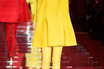 Inspire-se nos 100 vestidos de festa mais lindos da semana da moda de Milão de 2015!