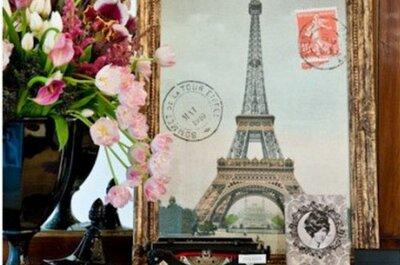 Ambienta tu boda con detalles desde París