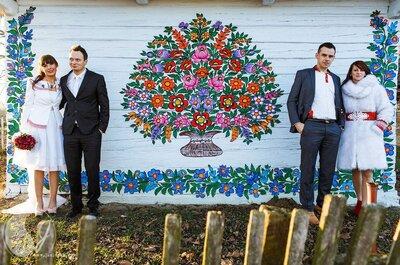 Ślub folkowy - kolorowa odsłona współczesnego ślubu