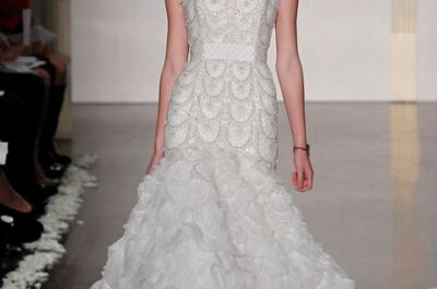 Lazaro Fall 2012 Bridal Collection of Beautiful & Beaded Wedding Dresses