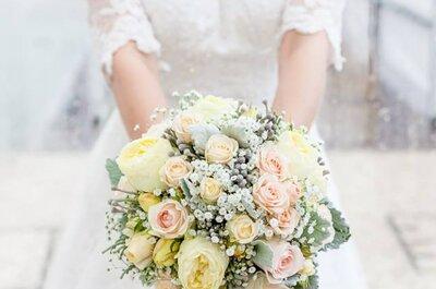 As cores pantone 2016 e os bouquets mais bonitos - 10 inspirações