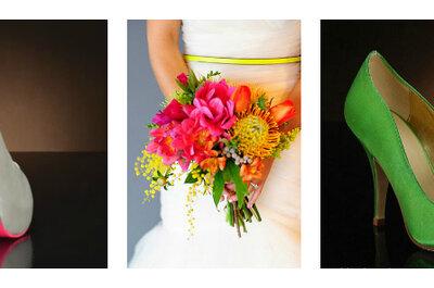 Kolorowe buty ślubne: do czego dopasować kolor butów?