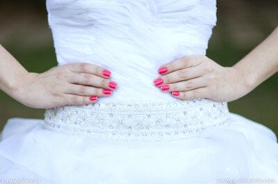 8 sugestões de unhas para noivas