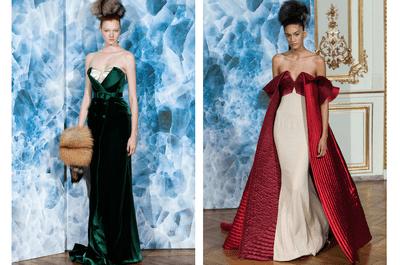 Dramatismo y siluetas ultra femeninas: Así es la colección alta costura otoño 2014 de Alexis Mabille