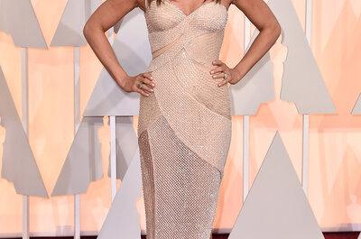 Premios Óscar 2015: Ideas para tu vestido de novia basado en los looks de la alfombra roja