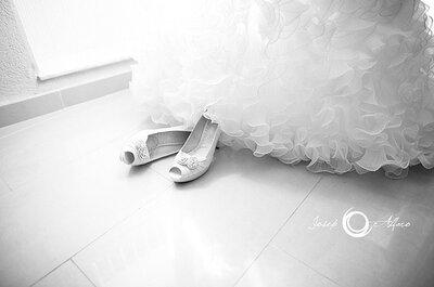 Chaussures de mariage : petits ou grands talons ?