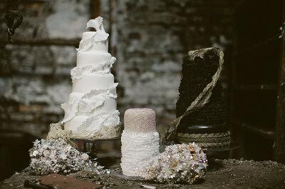 Extraordinarias tortas de bodas, donde el lujo y el drama son sus ingredientes