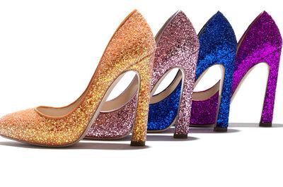 Sélection de chaussures colorées à talons hauts