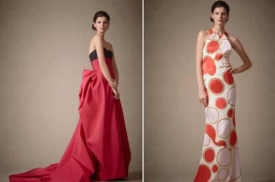 Inspiración para las invitadas desde la colección de Carolina Herrera 2014