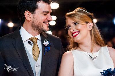 Ana Luíza e Frederico: casamento rústico-chic mega divertido no Rio!