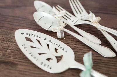 DIY für eine geniale Hochzeit 2015! So designen Sie Ihr eigenes Hochzeitslogo und einzigartigen Stil!