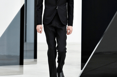 Trajes para novio 2014 de Balenciaga con estilo moderno