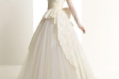 Suknie ślubne Zuhair Murad 2014 dla Rosy Clary