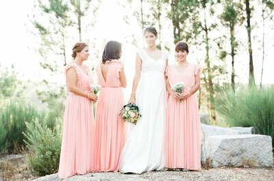 As melhores amigas: 14 reacções possíveis ao vosso casamento!