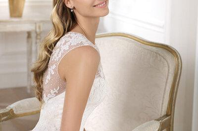 Trendy ślubne 2014: przegląd fryzur ślubnych
