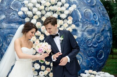 Свадьба Константина и Сауле по мотивам философской сказки «Маленький принц»!