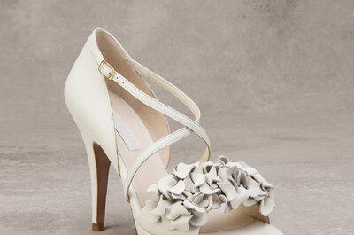 Deslumbra con estos zapatos de novia 2016, ¡elige el tuyo!