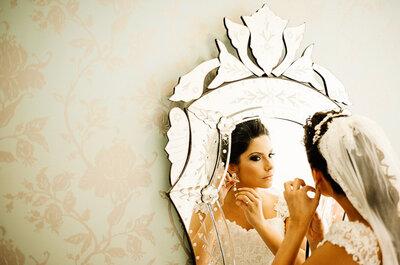 Emely e Geovanne: leveza e romantismo em um casamento intimista