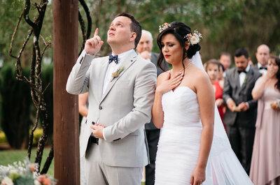 Casamento no campo de Gabi & Marcus: rústico, divertido e repleto de histórias!