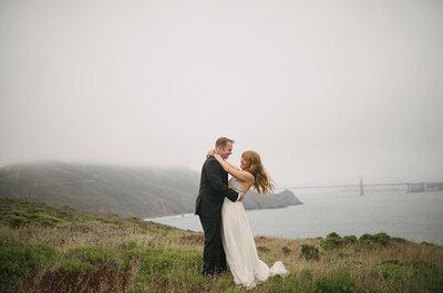 Real Wedding: Una boda de encanto envuelta en romántica neblina