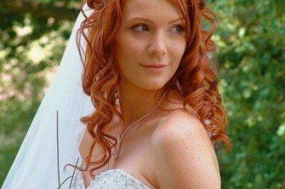Idées de coiffures de mariage pour cheveux longs
