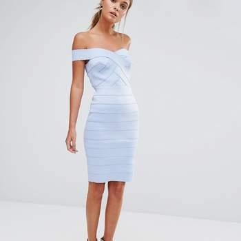 Krótkie niebieskie sukienki 2017: idealny kolor dla wszystkich kobiet!