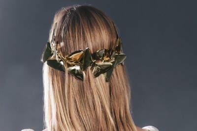 Peinados de novia con el pelo suelto 2016