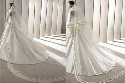 El mejor velo de novia para este 2015 ¡elige el tuyo!