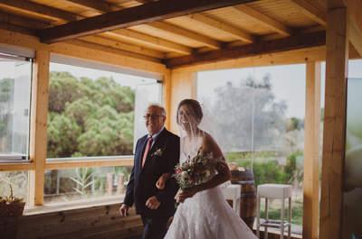 Die beste Begleitung am Hochzeitstag – Der Brautvater und sein Mädchen!