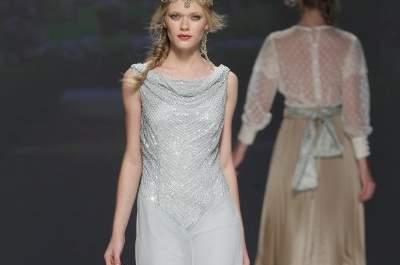Vestidos de fiesta de Matilde Cano 2015
