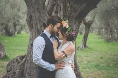 Une inspiration hippie pour un mariage décalé et coloré en pleine nature