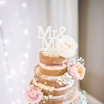 Naked Wedding Cake: dé trend van 2016!
