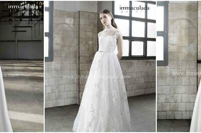 Inmaculada García 2016: One of the most exclusive collections for beautiful brides
