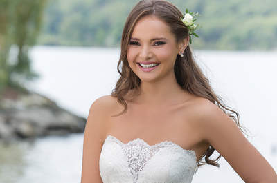 Vestidos de novia Sweetheart otoño-invierno 2016-2017: para las novias más dulces y románticas