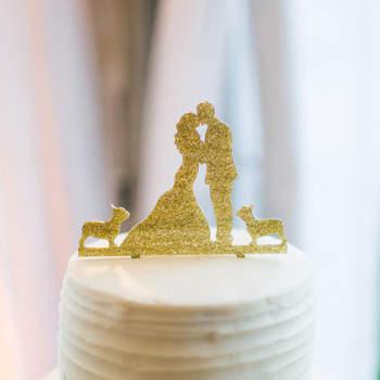 Des figurines trop craquantes à poser sur votre gâteau de mariage en 2016!