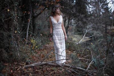 Promenons-nous dans les bois avec la nouvelle collection de robes de mariée 2017 Confidentiel Création !