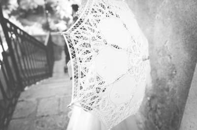 6 modi per sopravvivere ad una pioggia improvvisa nel giorno del matrimonio