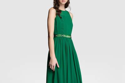 Feestjurk inspiratie! Groene jurken voor 2017