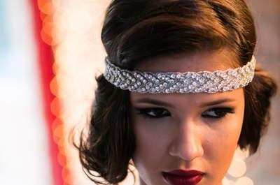 Noivas vintage e boho chic: editorial anos 20 para fazer sonhar!